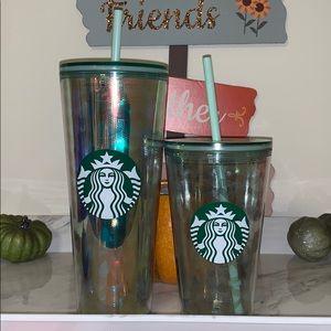 Starbucks mermaid scales mama and me tumblers